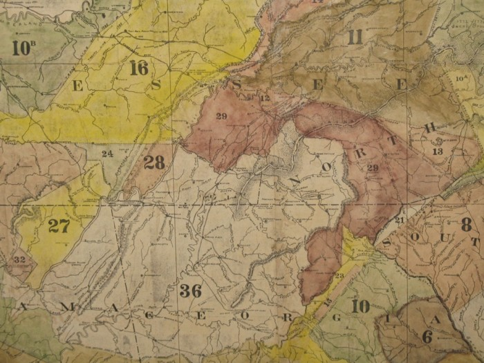 Cherokee Territory c. 1830 is the area identified as No. 36.